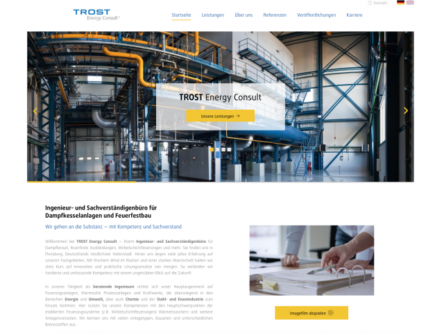 TROST Energy Consult® - Website