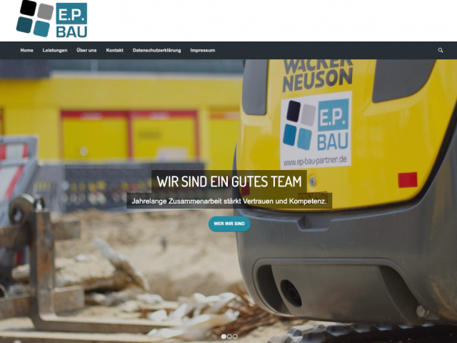 EP BAU – Website